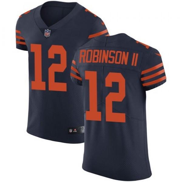 Nike Bears #12 Allen Robinson II Navy Blue Alternate Men's Stitched NFL Vapor Untouchable Elite Jersey