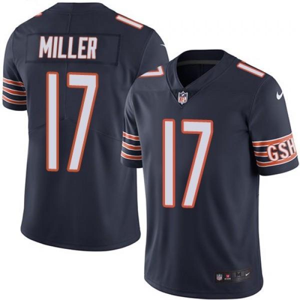 Nike Bears #17 Anthony Miller Navy Blue Team Color Men's Stitched NFL Vapor Untouchable Limited Jersey