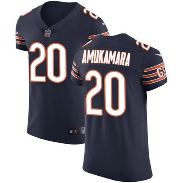 Nike Bears #20 Prince Amukamara Navy Blue Team Color Men's Stitched NFL Vapor Untouchable Elite Jersey