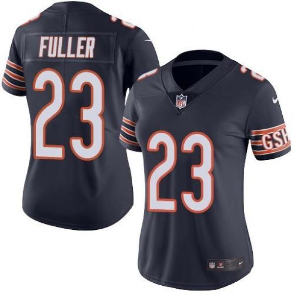 Women's Bears #23 Kyle Fuller Navy Blue Team Color Stitched NFL Vapor Untouchable Limited Jersey