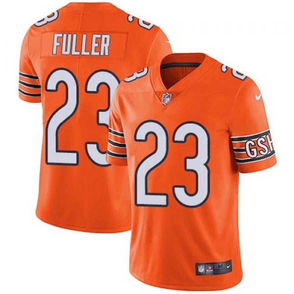 Nike Bears #23 Kyle Fuller Orange Men's Stitched NFL Limited Rush Jersey