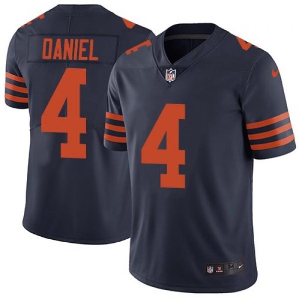 Nike Bears #4 Chase Daniel Navy Blue Alternate Men's Stitched NFL Vapor Untouchable Limited Jersey