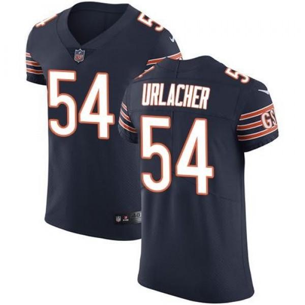 Nike Bears #54 Brian Urlacher Navy Blue Team Color Men's Stitched NFL Vapor Untouchable Elite Jersey