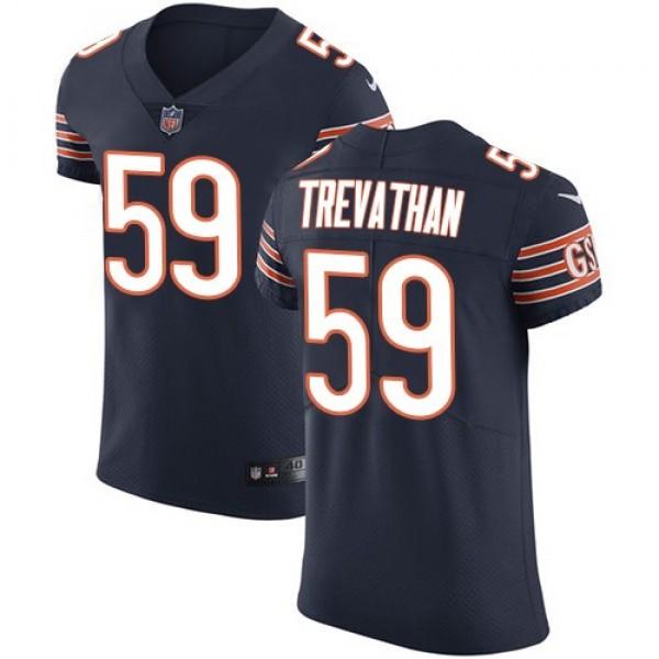 Nike Bears #59 Danny Trevathan Navy Blue Team Color Men's Stitched NFL Vapor Untouchable Elite Jersey