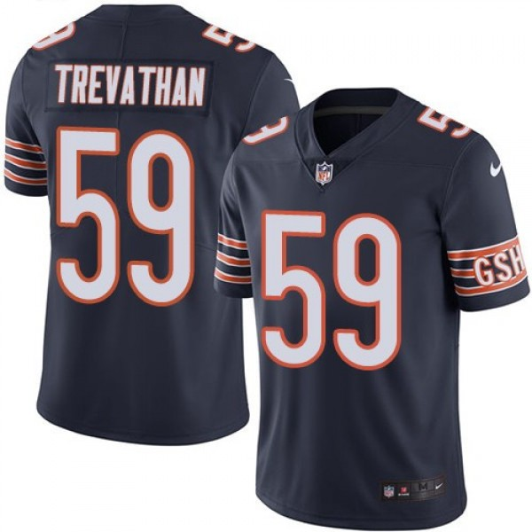 Nike Bears #59 Danny Trevathan Navy Blue Team Color Men's Stitched NFL Vapor Untouchable Limited Jersey