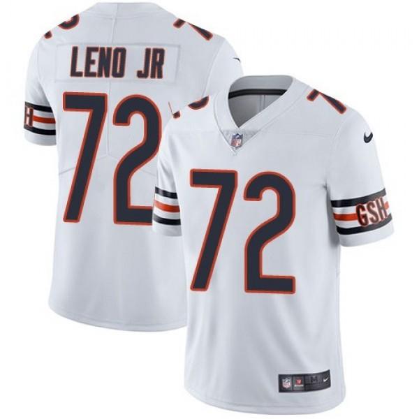 Nike Bears #72 Charles Leno Jr White Men's Stitched NFL Vapor Untouchable Limited Jersey