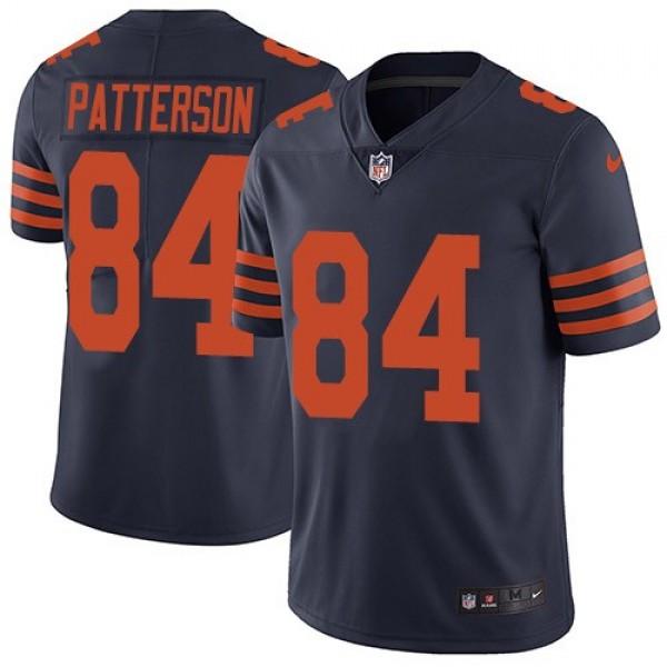 Nike Bears #84 Cordarrelle Patterson Navy Blue Alternate Men's Stitched NFL Vapor Untouchable Limited Jersey