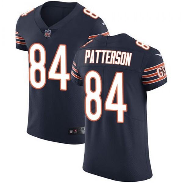 Nike Bears #84 Cordarrelle Patterson Orange Team Color Men's Stitched NFL Vapor Untouchable Elite Jersey