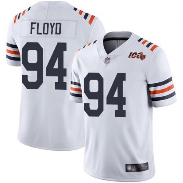 Nike Bears #94 Leonard Floyd White Alternate Men's Stitched NFL Vapor Untouchable Limited 100th Season Jersey