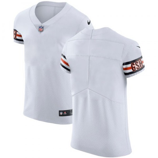 Nike Bears Blank White Men's Stitched NFL Vapor Untouchable Elite Jersey