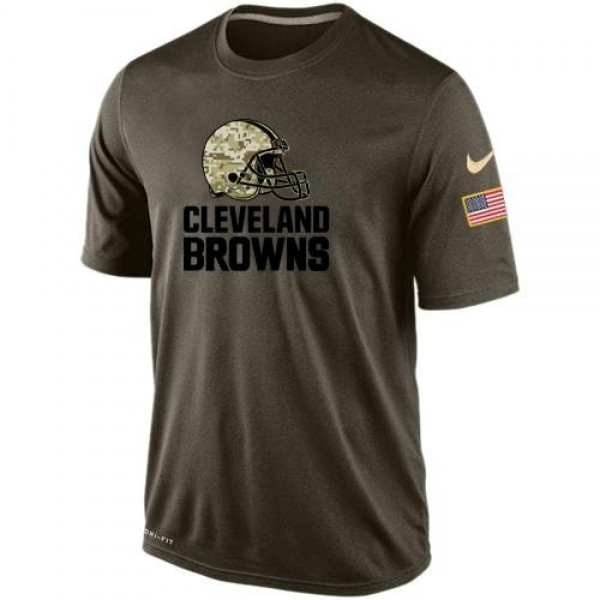 Men's Cleveland Browns Salute To Service Nike Dri-FIT T-Shirt