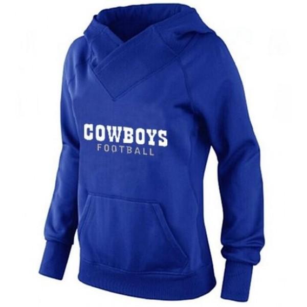 Women's Cowboys #19 Miles Austin Navy Blue Stitched NFL Elite Handwork Sequin Lettering Jersey