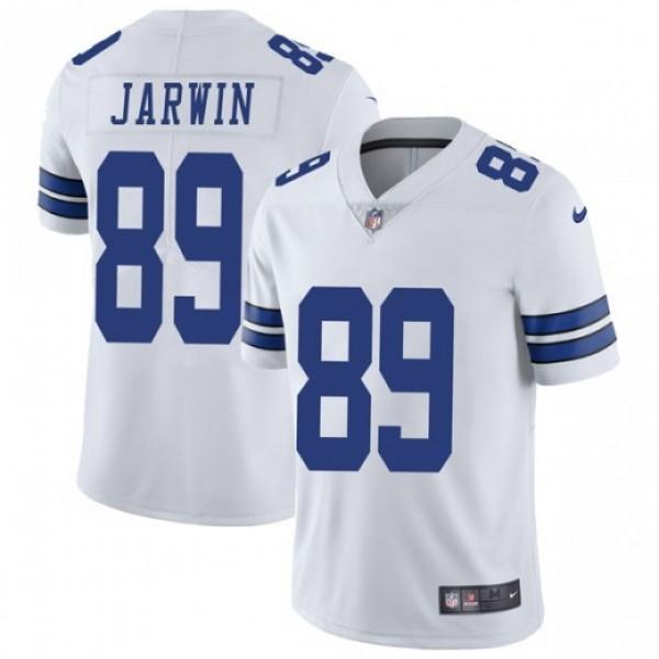 Nike Cowboys #89 Blake Jarwin White Men's Stitched NFL Vapor Untouchable Limited Jersey